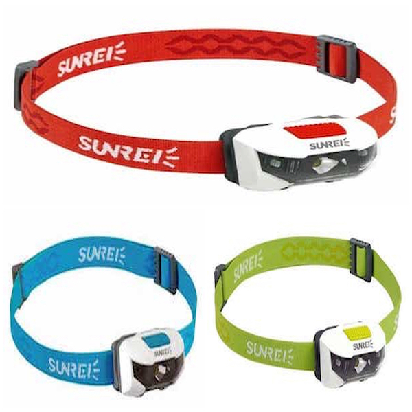 sunree-sports-3 pandelampe 3 varianter