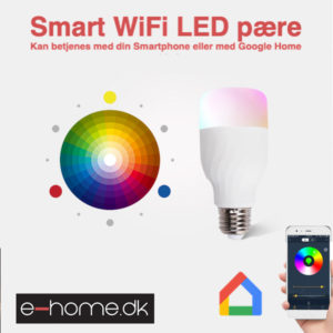 Smart WiFi LED Pære SKU_369031