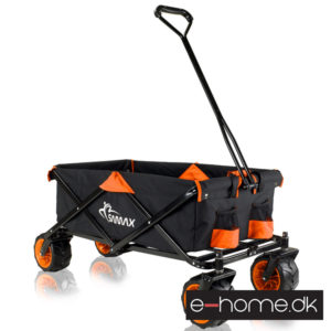 Foldbar trækvogn Orange_Sort_400015_e-home