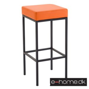 Barstol Newark 80 Kunstlæder Rustfri - Orange_309678_e-home