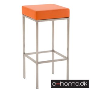 Barstol Newark 85 Kunstlæder Rustfri - Orange_309670_e-home